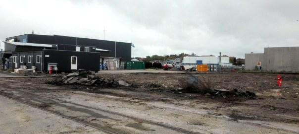 Byggeri på Holbæk havnefront