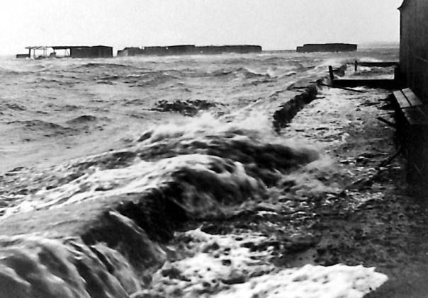 Stormflod Holbæk badeanstalt