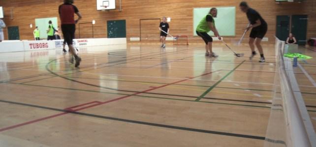 Motionsfloorball for kvinder i Holbæk Bombers
