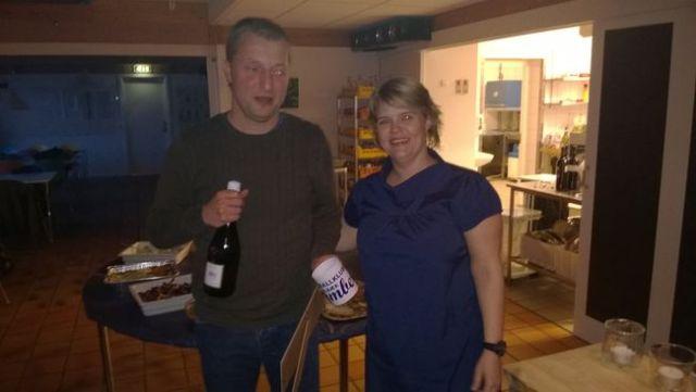 Thomas Lentz Helt (tv) og Karina Karl, formand