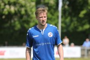 Rasmus Suhr Petersen scorede to af holbæks mål mod BSF. Foto: Rolf Larsen.