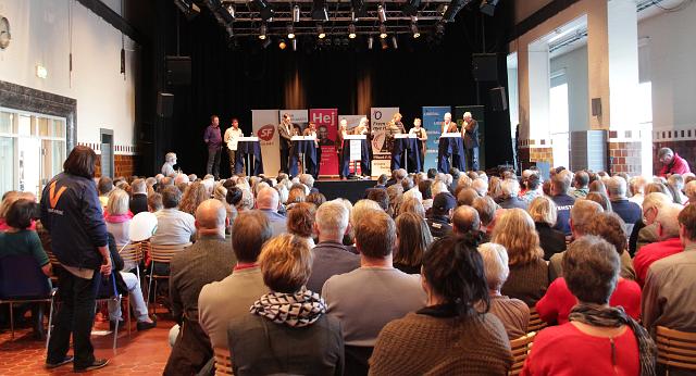 Hvad mener spidskandidaterne om Holbæk Arena? Foto: Rolf Larsen.