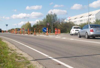 Nu skal der være rundkørsel i stedet for kryds. Foto:  Freelancefotografen.dk