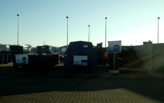 Der er nye åbningstider på kommunens genbrugspladser i 2014. Foto: Rolf Larsen.