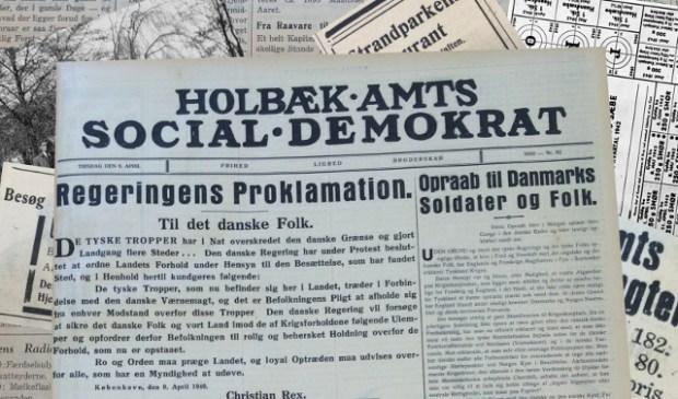I en ny serie fortæller vi om Holbæk under besættelsen - både om de store og de små begivenheder.