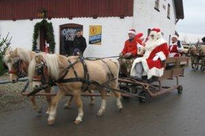 Julemanden ankommer til Nyvang
