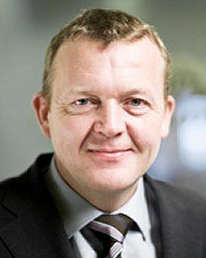 Statsminister Lars Løkke Rasmussen taler ved åbningsceremonien i aften. Foto: Statsministeriet.