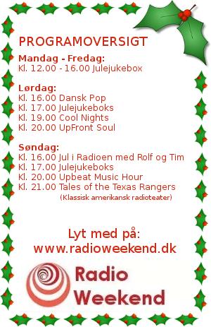 Radio Weekend - besøg www.radioweekend.dk