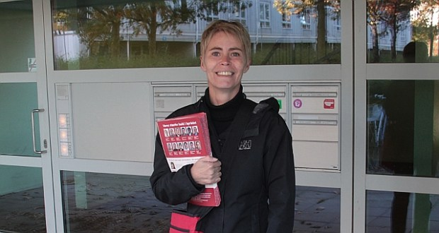 Ifølge en prognose i Politiken får Holbæk muligvis - med 60 - 95% sikkerhed, en rød borgmester efter valget. Det kunne så blive Sine Agerholm (billedet). Arkiv foto: Rolf Larsen.
