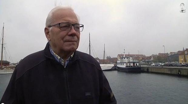 Søren Wolstrup fortæller om Arena-projektet. Foto: TV Vestsjælland.