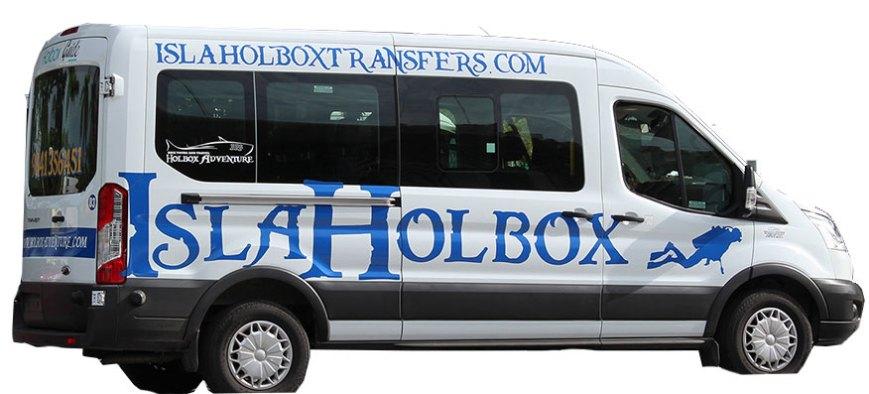 Van to Holbox Island 7