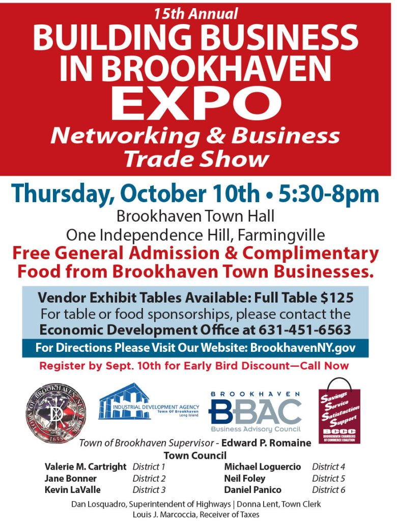 15th Annual Building Business in Brookhaven Expo