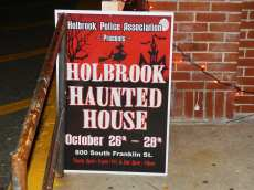 Holbrook Police Patrolmen's Association Annual Haunted House