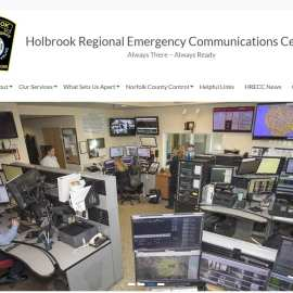 Holbrook Regional Emergency Communications Center Launches New Website