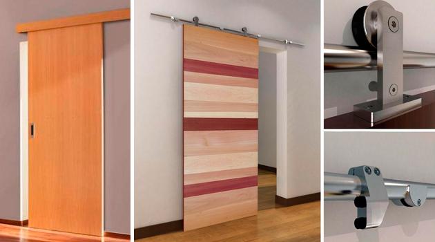 Puertas de corredera hol chile for Correderas para puertas de madera