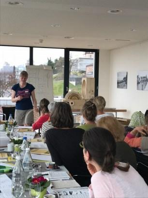 Undine Westphal Imkerinnentag Rorschach März 2017