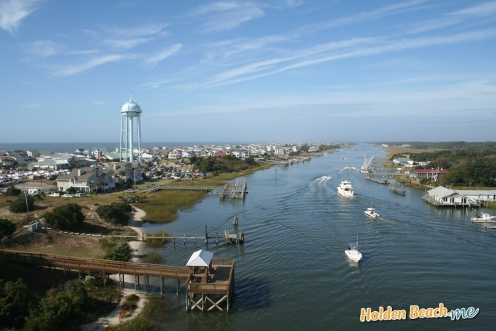 Holden Beach, NC - Looking West