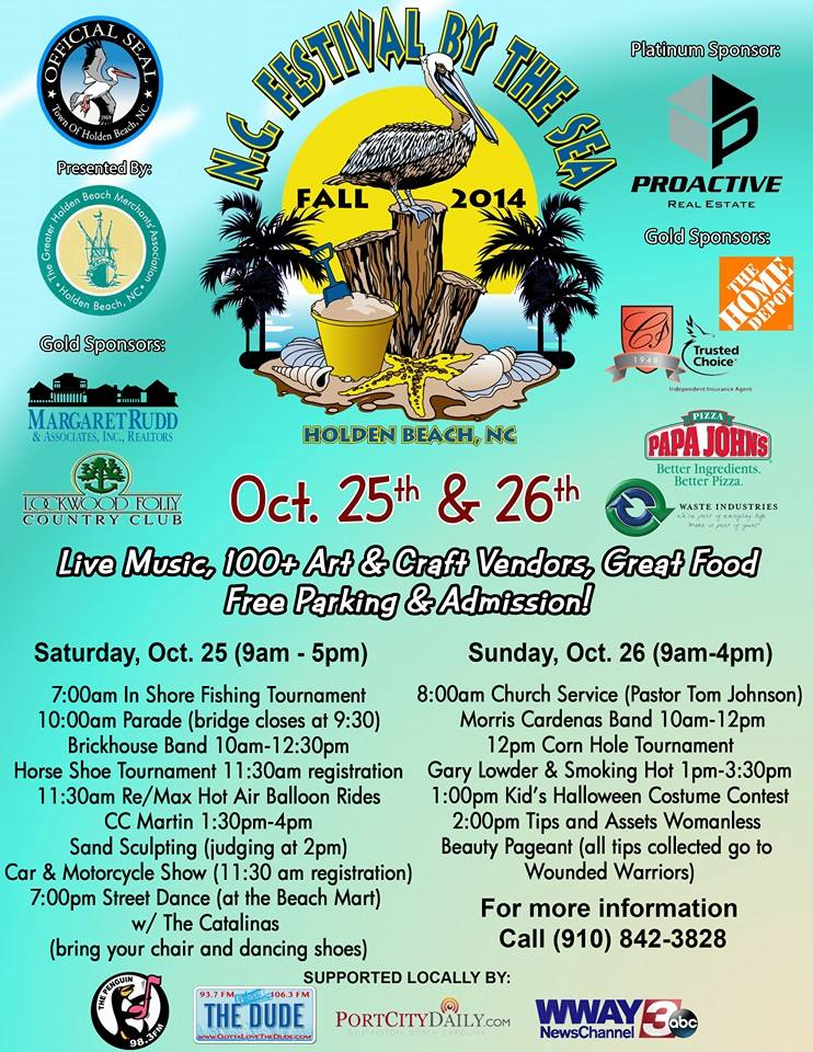 Festival by the Sea Poster