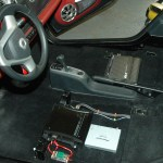Amplifier under-seat locations
