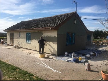 Double Glazing and Rendering Job