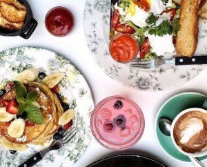 Best Brunch Spots in Glasgow - pancakes at bills