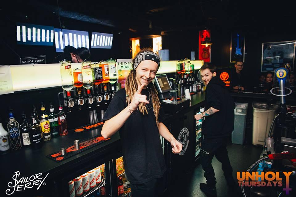 cathouse rock club glasgow staff