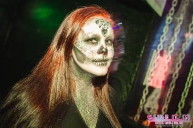 Halloween Ideas glitter skull