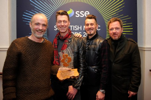 Travis SSE Scottish Music Awards 2016