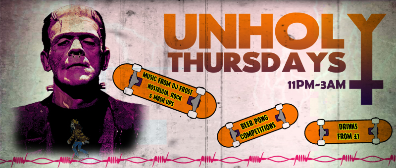 CATHOUSE ROCK CLUB UNHOLY THURSDAYS