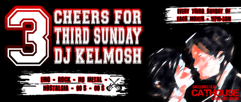 Three Cheers for Third Sunday at Cathouse