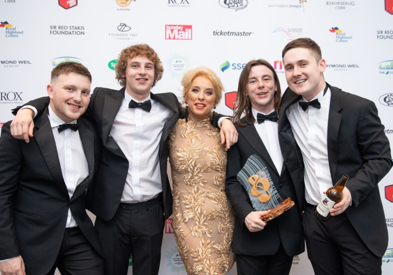 SSE Scottish Music Awards 2018 - The Snuts