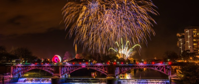 Hogmanay in Glasgow 2018