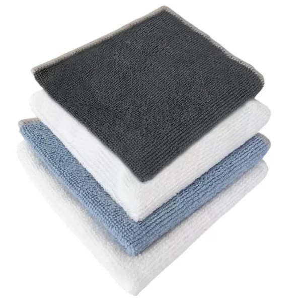 microfibre cleaning cloths stack available from Holdfast Tattoo Supplies