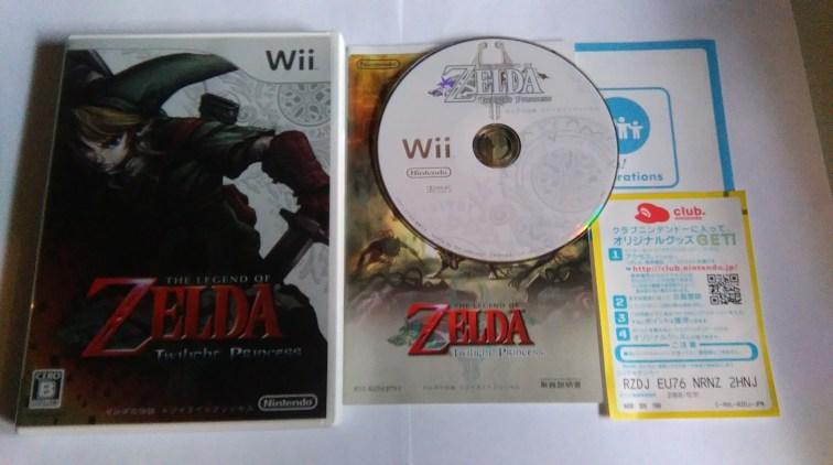 Collection Zelda Twilight Princess Wii en vente sur Holdies