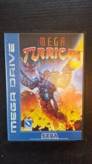 Mega Turrican sur Megadrive, sorti en 1994, ça nous rajeuni pas...