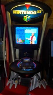 borne d'arcade nintendo 64