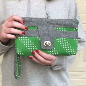 Delmar Wristlet or Belt Bag