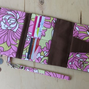 McPherson Square Tri-Fold Crossbody or Wristlet Wallet