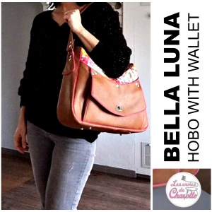 Bella Luna – Hobo bag with built in Wallet