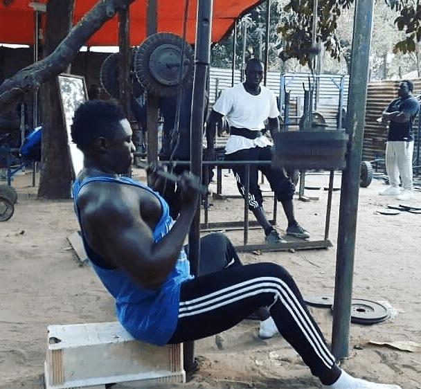 John Gomez Gambiában (forrás: Instagram)