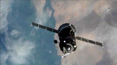 Rekordott döntött a Szojuz - megfelezte az ISS űrutazás idejét