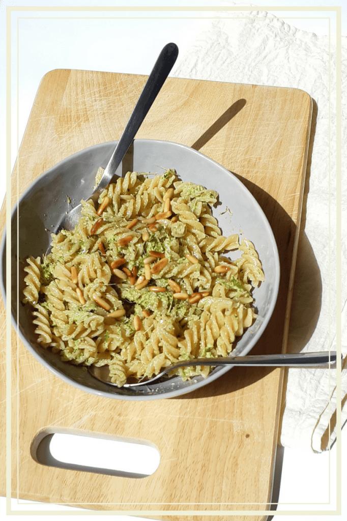 Vegan Carrot Top Pesto