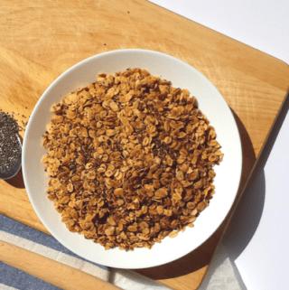 Vegan Flax Chia Granola