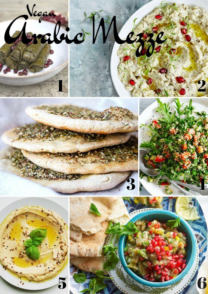 Vegan Arabic Mezze