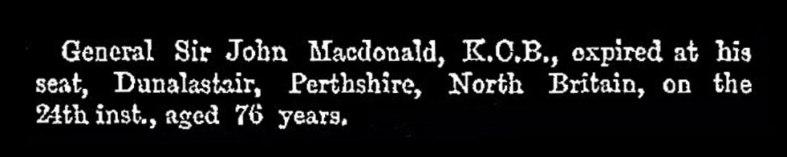 John Macdonald of Dunalastair