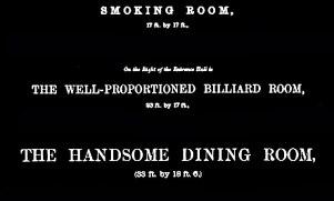 Smoking and Billiard rooms, Dunalastair