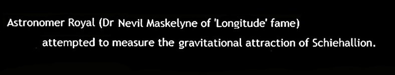 Nevil Meskelyne - weighing the world