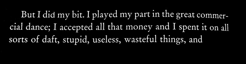 money, waste, grandeur