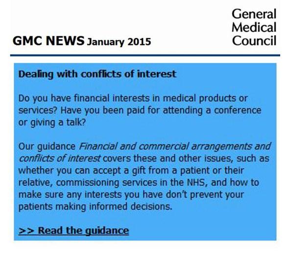 GMC Jan 2015 CoI