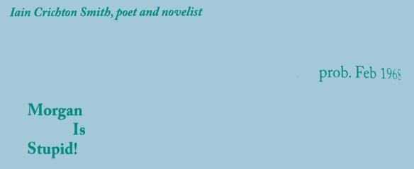 Edwin Morgan letters (27)